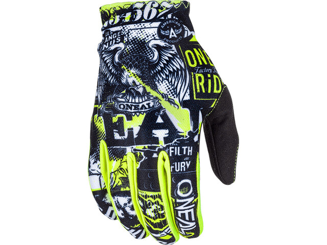 O'Neal Matrix Gloves Barn attack black/neon yellow
